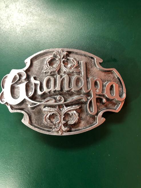 Grandpa Plain Buckle