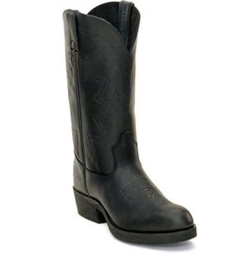 Durango Men's Black Rubber Sole Western Boot