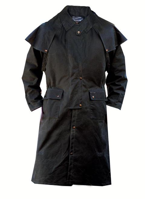Outback Trading Oilskin Duster Coat