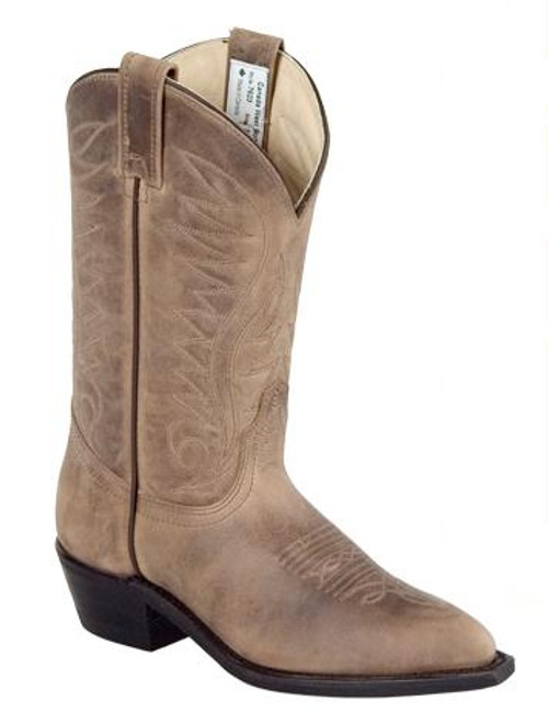 Women's Canada West 7623 Brown Western Boot