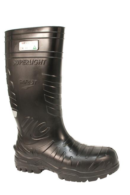 Cofra CSA Black PU Metal Free Safety Boot (-25)