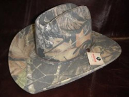 Mossy Oak Camo Western Hat