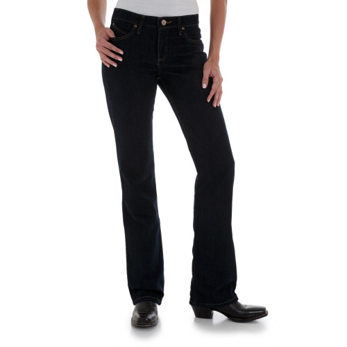 aa0df897f6e60 ... Wrangler Women s Q-Baby Stretch Dark Dynasty Jeans  The Ultimate Riding  Jean