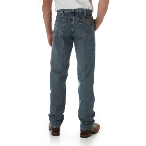 Wrangler Men's Original Fit Rough Stone Jeans