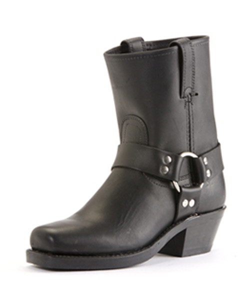 Women's Frye 8R Black Harness Boot