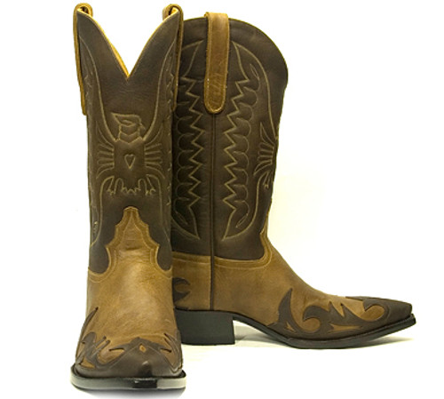 Liberty Boot Co.'s  TB Aguilla Two Tone Boot