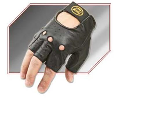 Bristol Fingerless Leather Gloves
