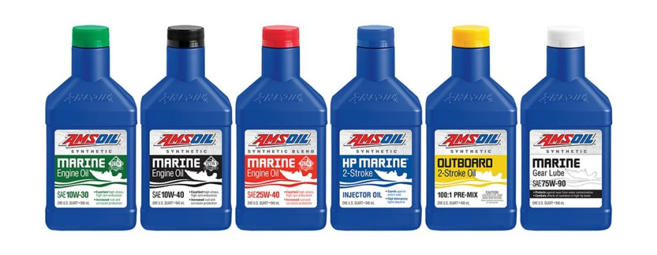 HP Marine Synthetic 2-Stroke Oil - CSS-Central Speed Supply, LLC