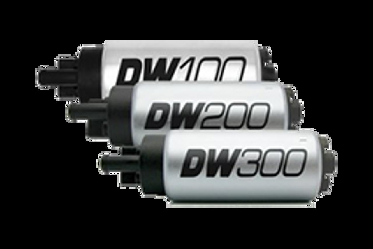 DeatschWerks 9-1026 Install kit for DW65C /& DW300C fuel pump Fits EVO X 08-15