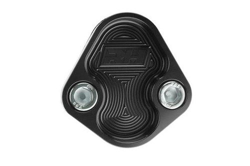 Redhorse Aluminum Block-Off Plate for Ford 351C, 351M & 400 ENGINE - Black