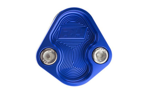 Redhorse Aluminum Block-Off Plate for BBC ENGINE - Blue