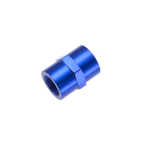 "Redhorse -02 (1/8"") NPT female pipe coupler - blue"