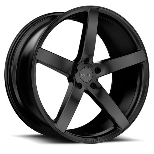 R1  20x10.0 5/115 ET25 CB74.1 SATIN BLACK
