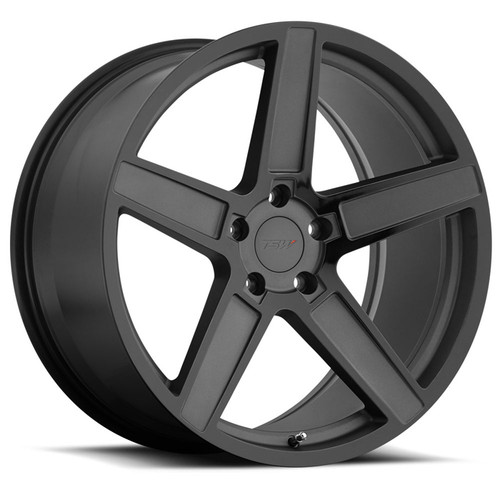 ASCENT  17x8.0 5/100 ET35 CB72.1 MATTE GUNMETAL W/GLOSS BLACK FACE