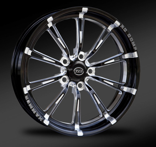 Eclipse cut front drag race wheel.