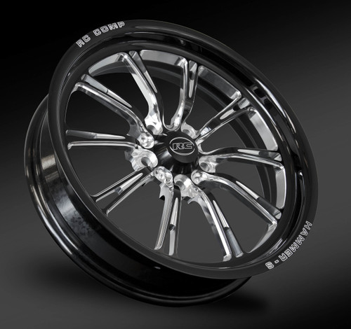 Eclipse cut front race wheel