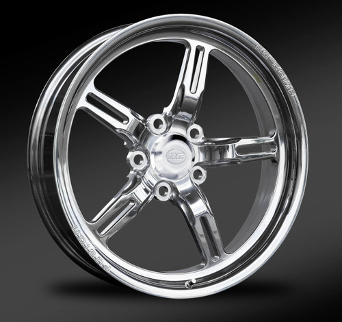 Polished Front Drag Race Wheel
