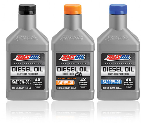 AMSOIL Heavy-Duty Synthetic Diesel Oil
