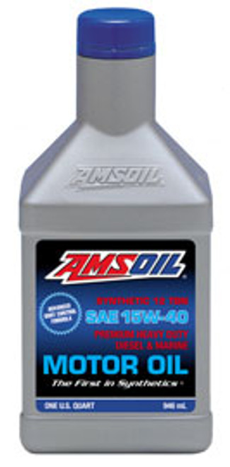 AMSOIL Heavy-Duty Synthetic Diesel & Marine Oil