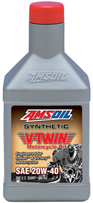 AMSOIL Synthetic V-Twin Motorcycle Oil