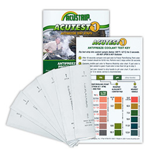 AMSOIL Antifreeze Test Strips