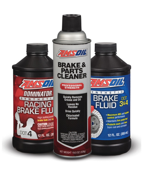 AMSOIL DOMINATOR DOT 4 Synthetic Racing Brake Fluid