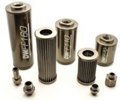 Deatschwerks in-line fuel filter and housing kit