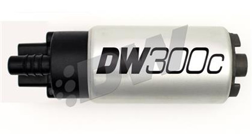 340lph compact fuel pump w/ clips