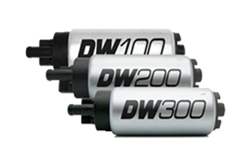 265lph compact fuel pump w/ clips