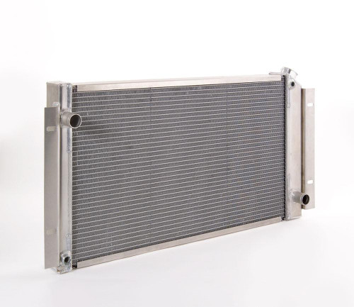 Be Cool Direct-Fit Series Polished Finish Radiators Dual Coolers