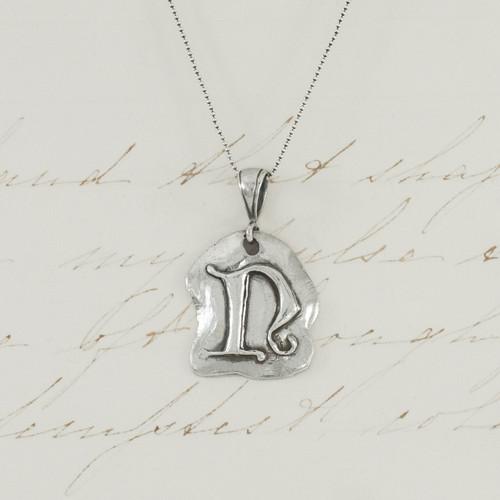 N - Alphabet Pendant (2)