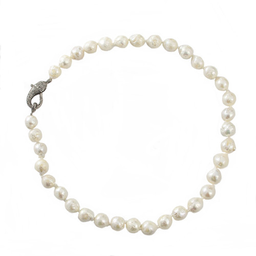 Knotted Baroque Pearls