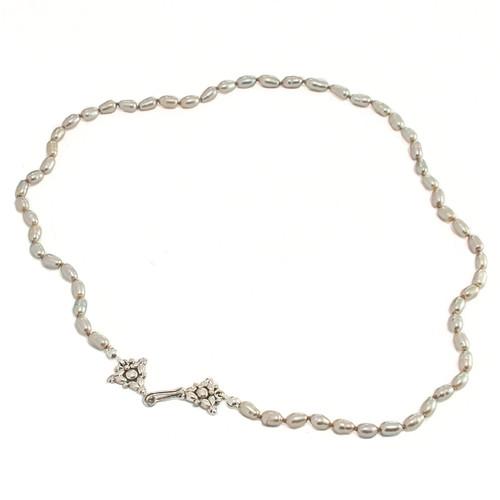 Grey Rice Pearls