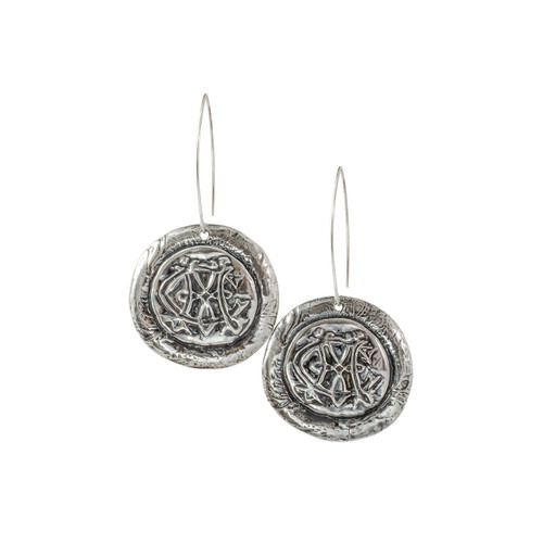 Catherine - Round Earrings