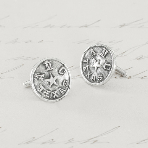 Texas A&M Cufflinks with 1920 Monogram