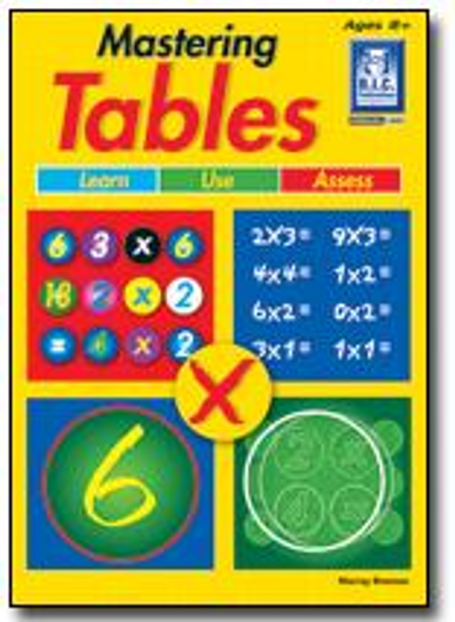 Mastering Tables Ages 8+