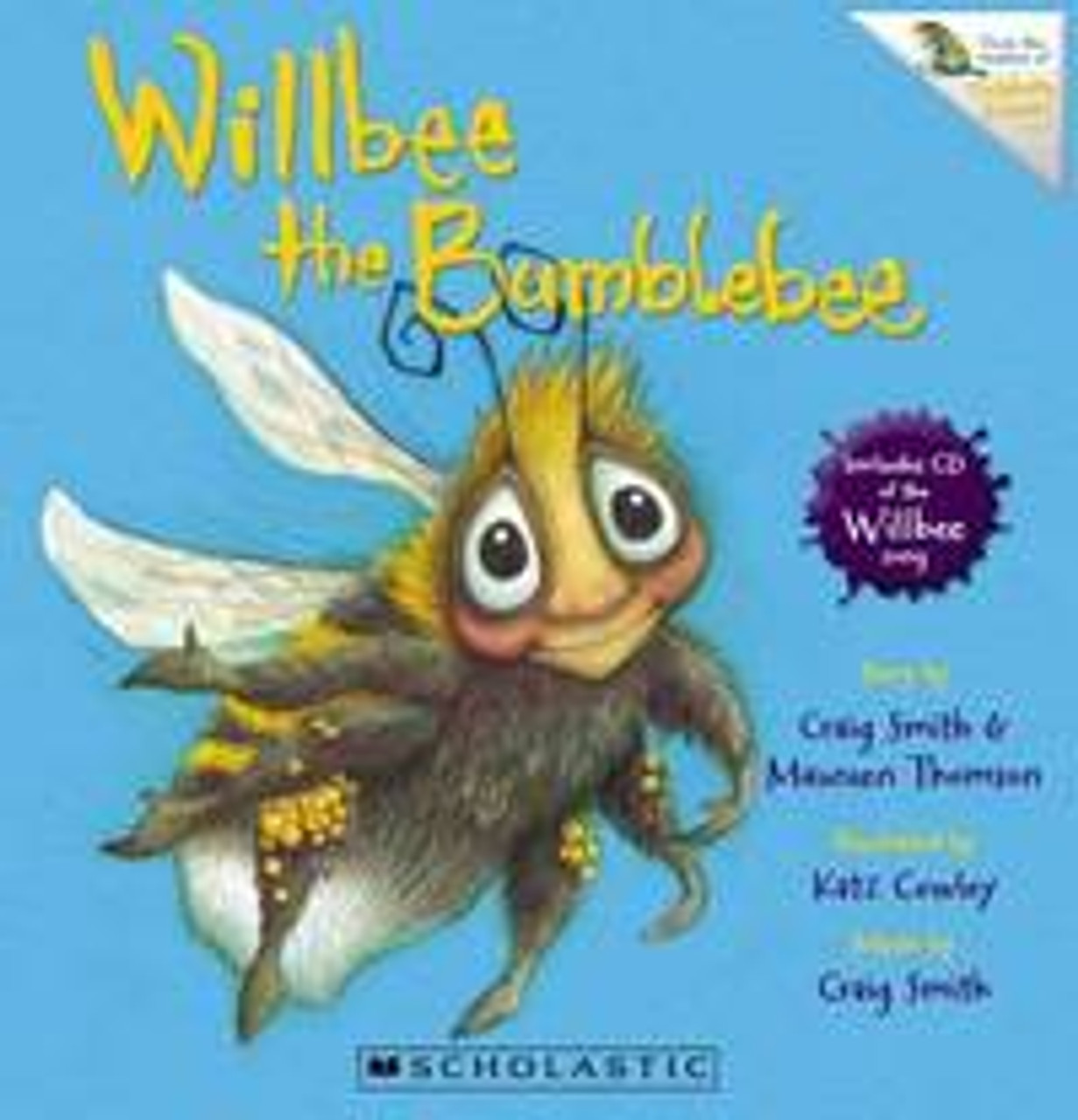 Willbee the Bumblebee (Includes CD)