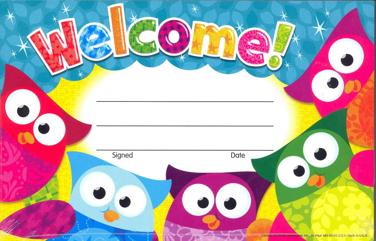 Certificates - Welcome Owl Stars (30)