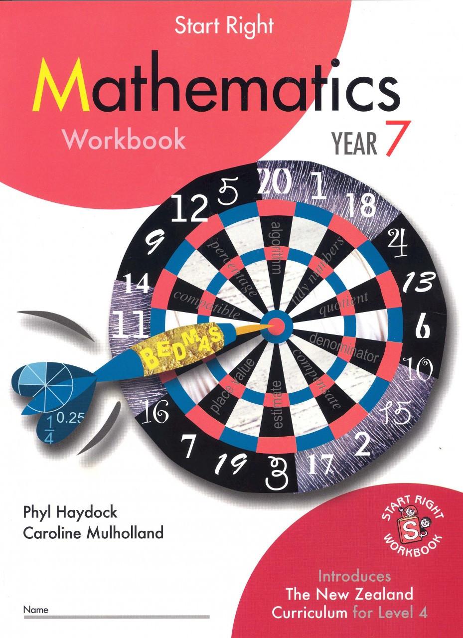 Start Right Mathematics Workbook Year 7