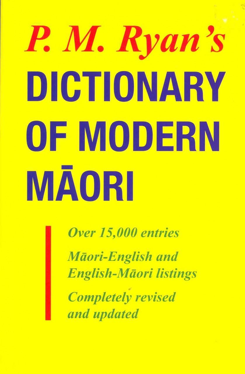 P M Ryan's Dictionary of Modern Maori