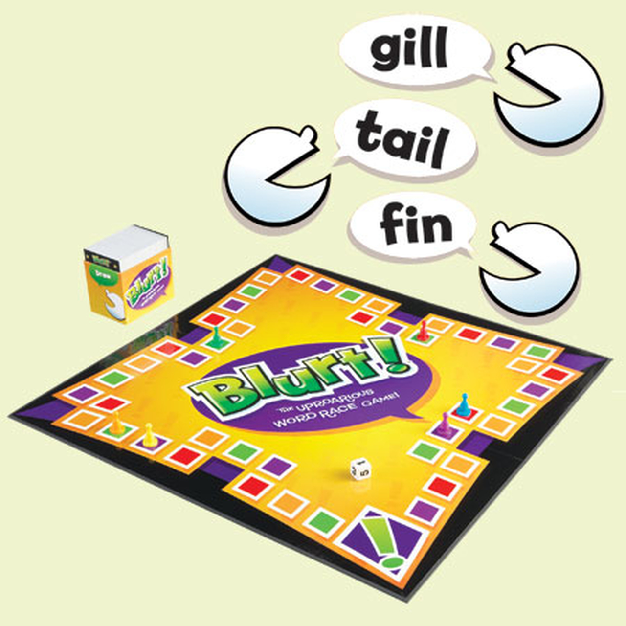 Blurt! The Uproarious Word Race Game