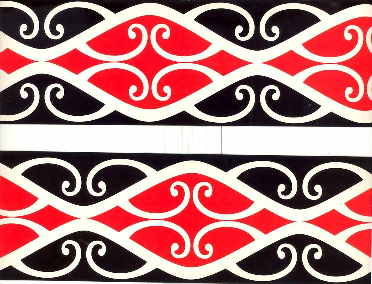 Kiwi Borders - Patiki Red