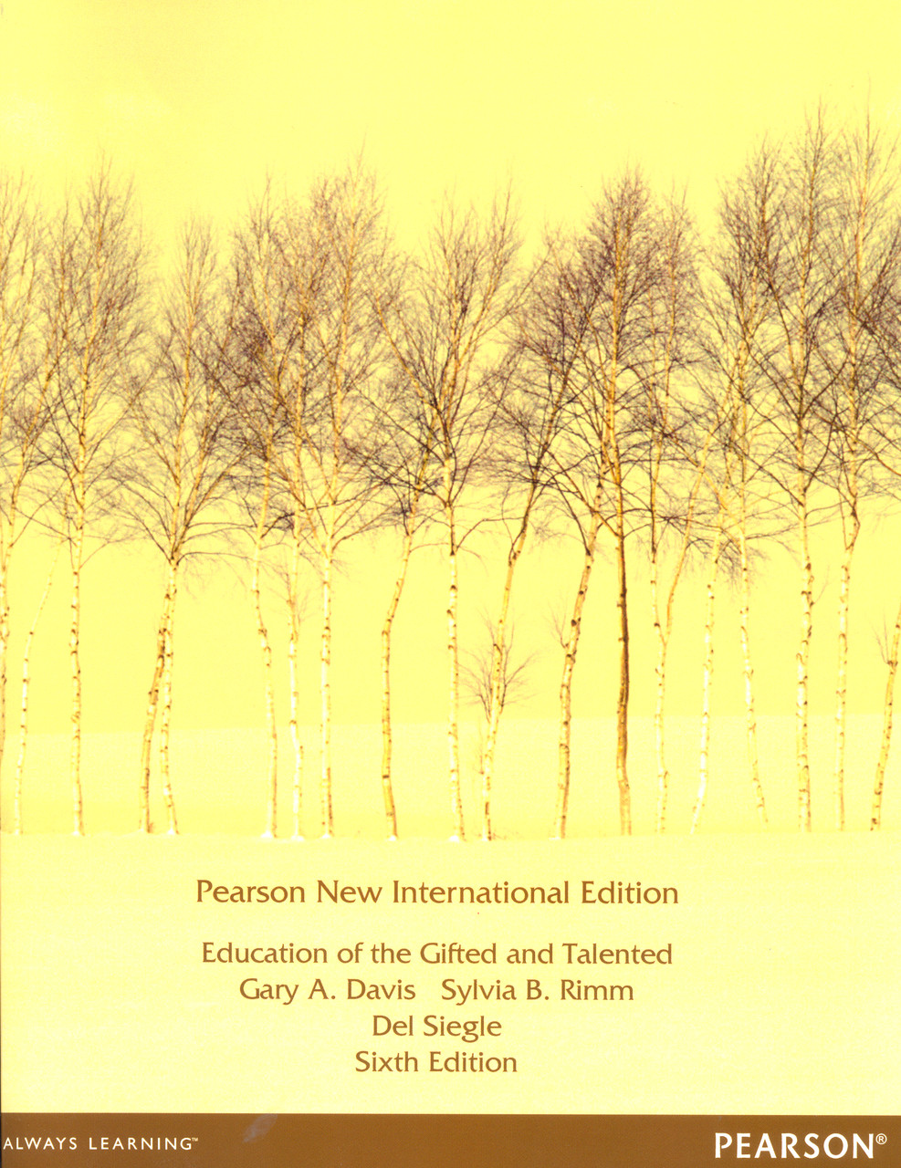 Education of the Gifted And Talented - 6th Edition