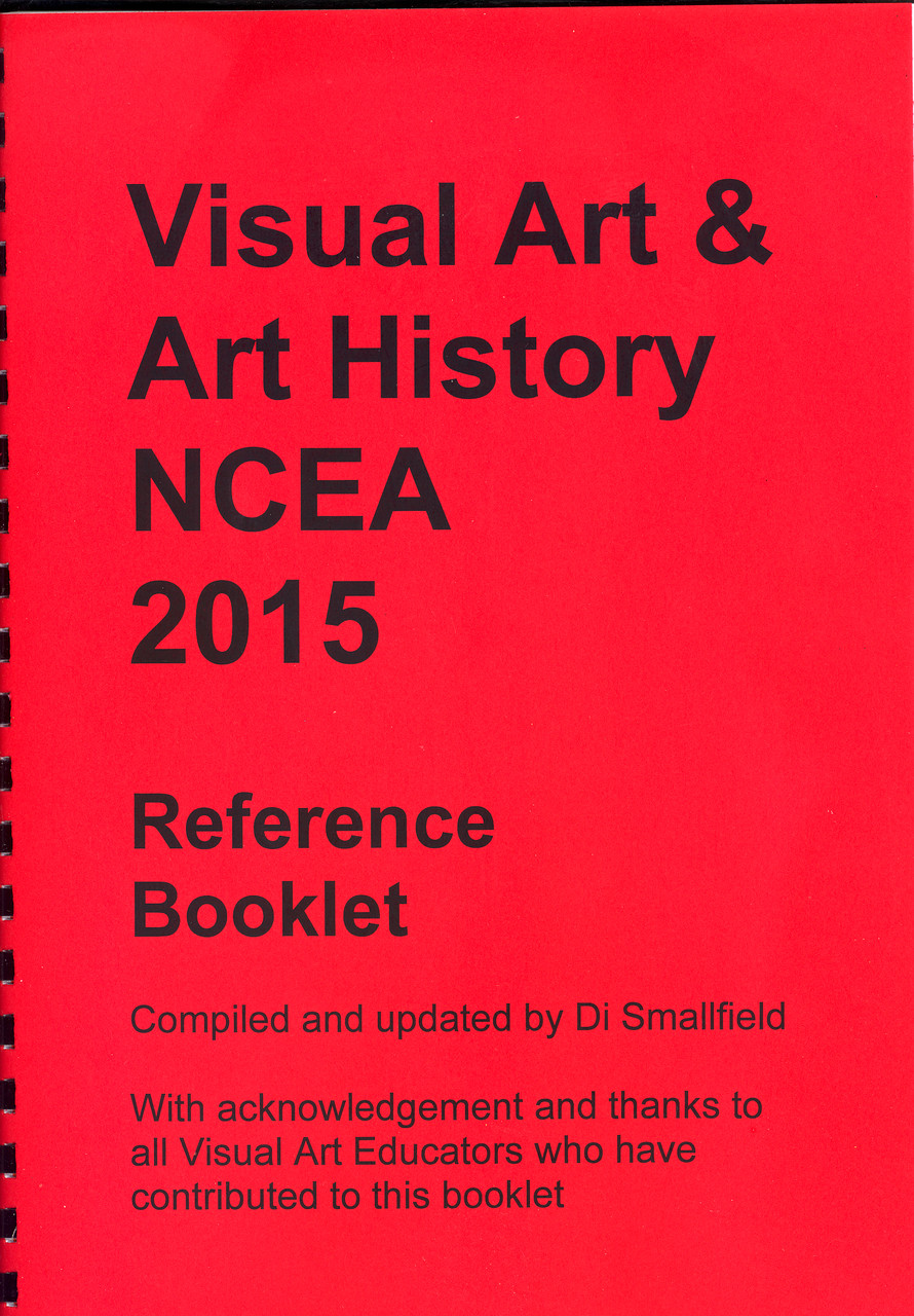 2015 Visual Art NCEA Reference Booklet