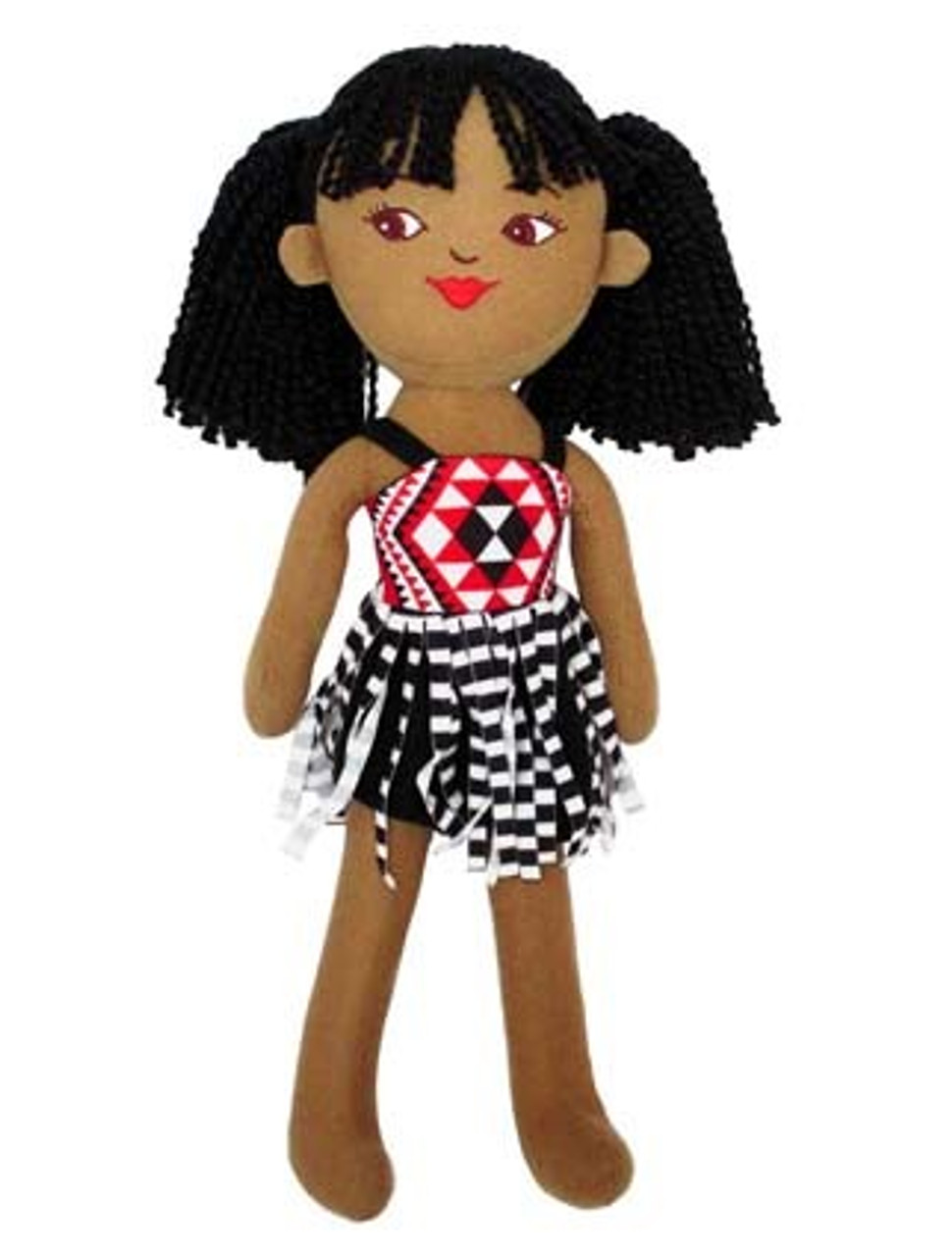 Soft Doll Maori Girl 40cm