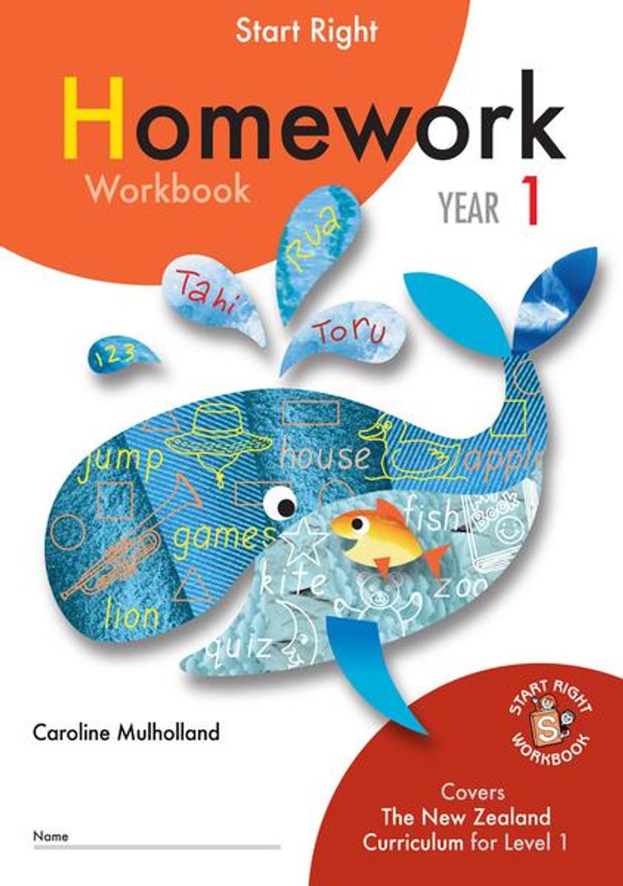 Start Right Year 1 Homework Workbook