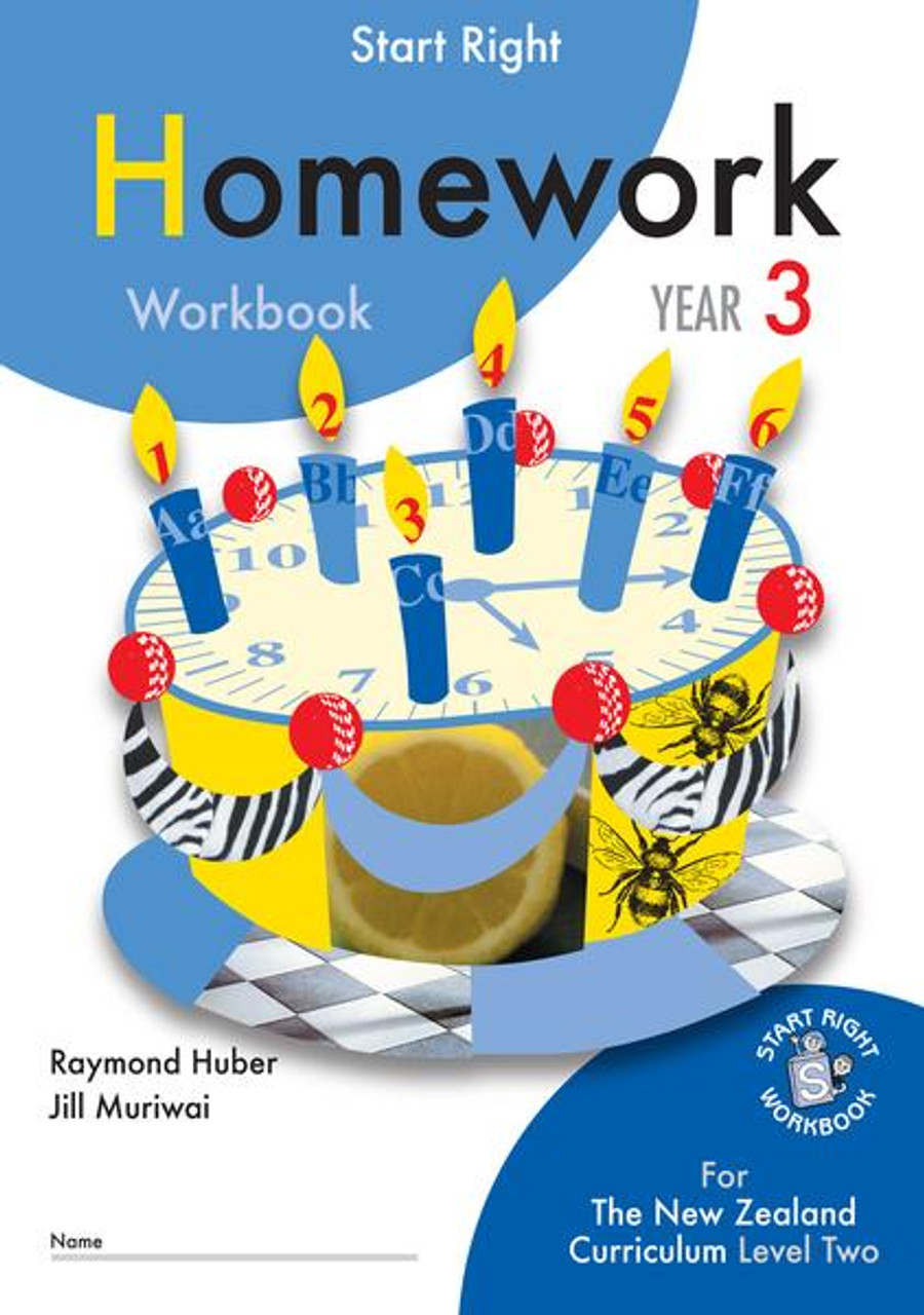 Start Right Year 3 Homework Workbook