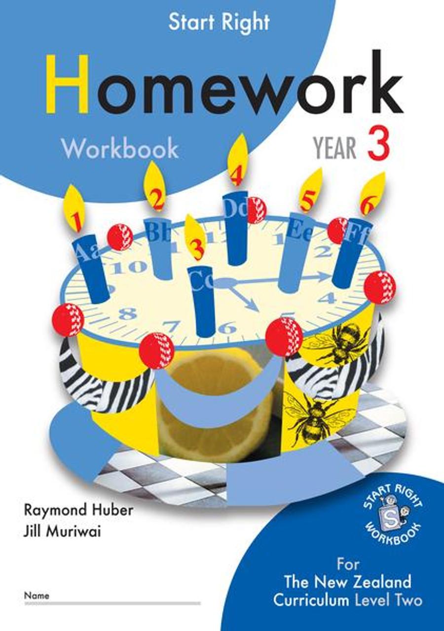 Start Right Year 3 Homework Workbook