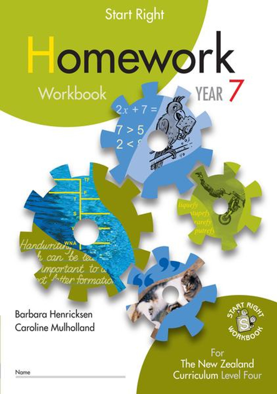 Start Right Year 7 Homework Workbook