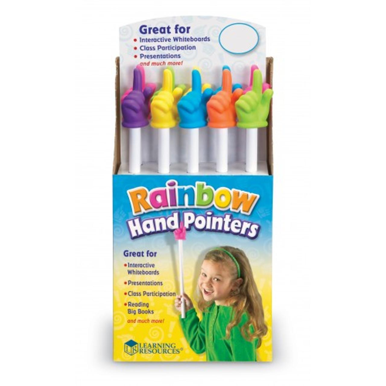 Rainbow Hand Pointer